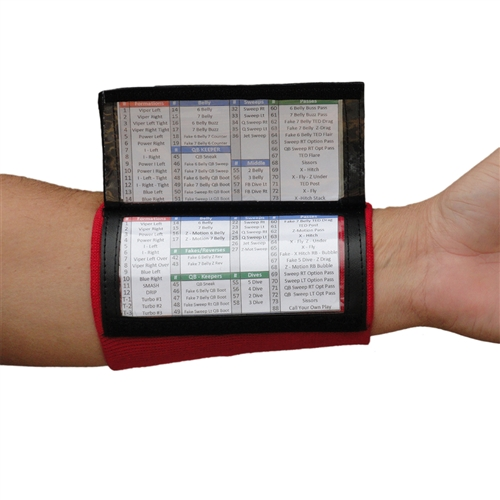 Wrist Coach X100 - Youth Playbook Wristband - Team Colors