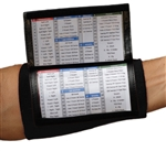 (10) Pack - Playbook Wristband - Wrist Coach X200