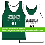 Customize Your Basketball Reversible Jersey