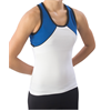 Pizzazz Performance Wear | Youth Tri-Color Top | 1114-PIZ-7700