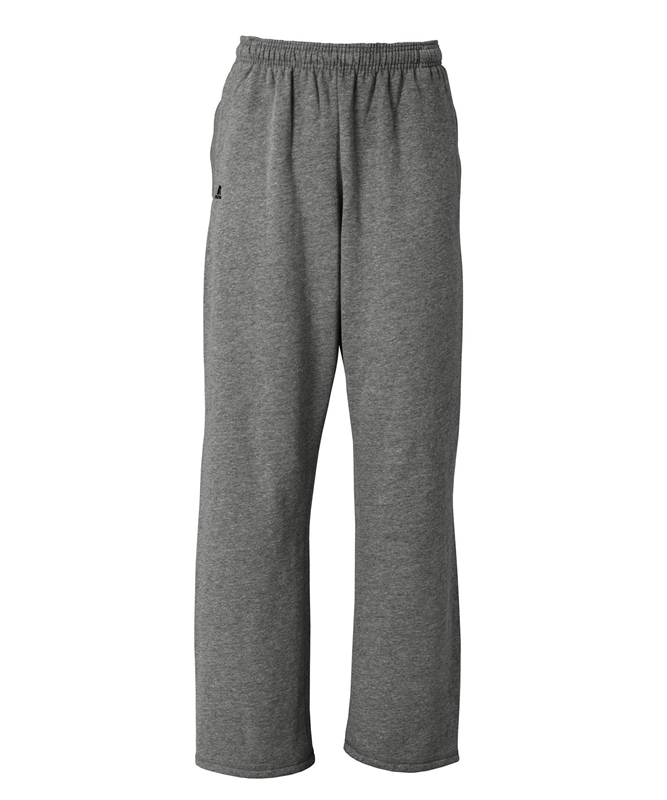 Russell Athletic Mens DriPower Open Bottom Sweatpants