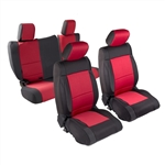 Smittybilt 471001 Neoprene Front & Rear Seat Cover Set Jeep JL 4-Dr