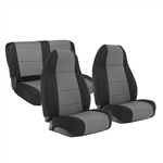 Smittybilt 471022 Neoprene Front & Rear Seat Cover Set Jeep JL 4-Dr