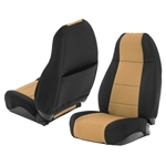 Smittybilt 471125 Neoprene Front & Rear Seat Cover Set Jeep JL 4-Dr