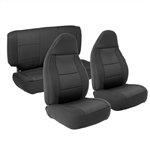 Smittybilt 471301 Neoprene Front & Rear Seat Cover Set Jeep JL 4-Dr