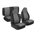 Smittybilt 471322 Neoprene Front & Rear Seat Cover Set Jeep JL 4-Dr
