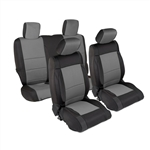 Smittybilt 471422 Neoprene Front & Rear Seat Cover Set Jeep JL 4-Dr