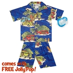Photo of Hawaiian Woody Tropics Boys Set & Free JollyPop