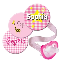 Personalized 3-Pack Pink JollyPop Combo