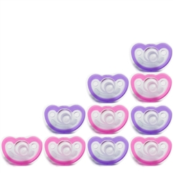 Photo of JollyPop Pacifier 10 Pack 0-3m Pink-Lavender