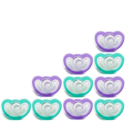 Photo of JollyPop Pacifier 10 Pack 0-3m Blue