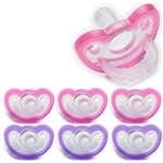Photo of JollyPop Pacifier Value Pack 0-3m Pink-Lavender