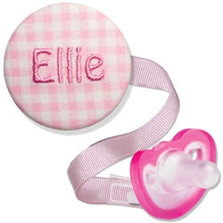 Personalized Embroidered Combo Pink