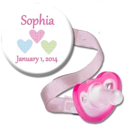 Personalized Birthday Combo Pink