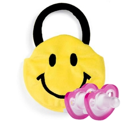 Photo of Goody Bag Smiley Face with 2 JollyPop Pacifiers