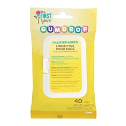 First Years GumDrop Pacifier Wipes
