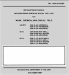 M17, M17A1, M17A2 Gas Mask Operators Manual TM 3-4240-279-20