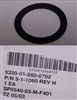 Voicemitter Side Port Gasket for MCU-2A/P and M40 Gas Masks, NSN 5330-01-260-8702