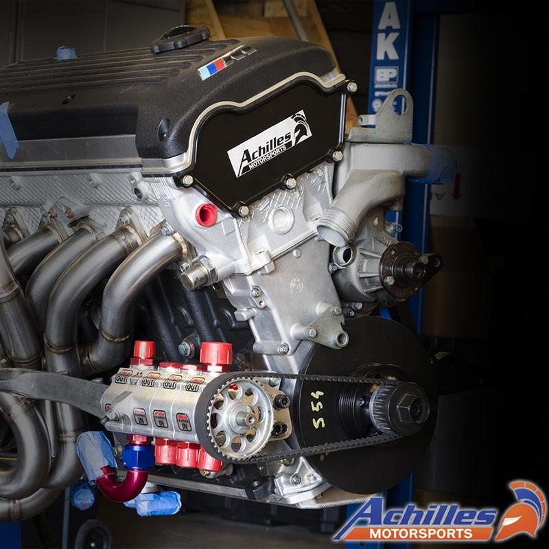 Achilles Motorsports Dry Sump Kit Bmw E46 M3 Z3m Z4m S54 Engine