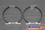 Achilles Motorsports Oil Tank Mounting Brackets