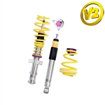 KW Coilover Kit Variant 2 - BMW 1 Series E82 Convertible, all engines, 15220062