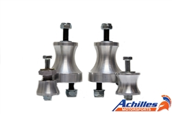 Achilles Motorsports Aluminum Solid Motor Mounts and Solid or Adjustable Transmission Mounts - BMW E36, E46 3 Series & M3