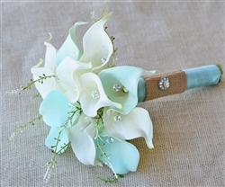 Natural Touch Tiffany Small Calla Lilies Bouquet