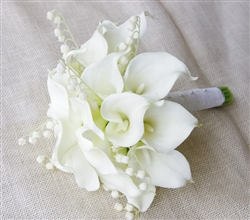 Natural Touch Calla Lilies Bouquet