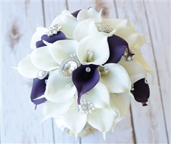 Natural Touch Small Calla Lilies Bouquet