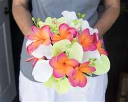 Natural Touch Orchid, Plumerias & Calla Lilies
