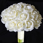 Natural Touch Off-White Rose Bouquet