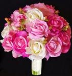 Natural Touch Pink Roses