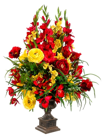 Tall Sprays Centerpiece Made In Your Colors And Fillers