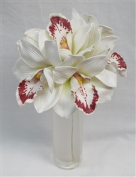 Natural Touch Cymbidium Orchid Stems