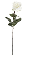 "Natural Touch Rose Stem Spray 27"" Tall"