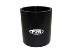 "P2R 2.5"" 4Ply Black Silicone Coupler"