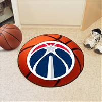 "Washington Wizards Basketball Mat, 29"" Diameter"