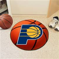 "Indiana Pacers Basketball Mat 29"" Diameter"