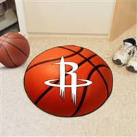 "Houston Rockets Basketball Mat 29"" Diameter"