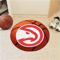 "Atlanta Hawks 29"" Diameter Basketball Mat"
