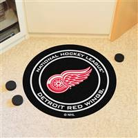 "Detroit Red Wings Puck Mat, 29"" Diameter"