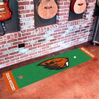 Oregon State Beavers Putting Green Mat