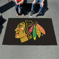 "Chicago Blackhawks Ulti-Mat, 60""x96"""