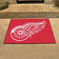 "Detroit Red Wings All-Star Mat 34""x45"""