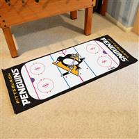 "Pittsburgh Penguins NHL Rink Runner Mat, 30""x72"""
