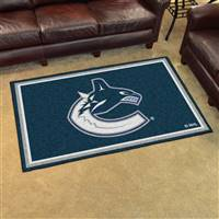 Vancouver Canucks 4x6 Area Rug