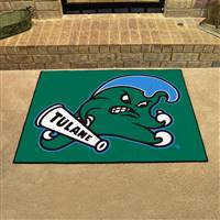 "Tulane Green Wave All-Star Rugs 34""x45"""