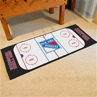 "New York Rangers NHL Rink Runner Mat, 30""x72"""