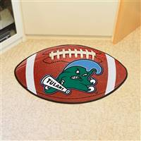 "Tulane Green Wave Football Rug 22""x35"""