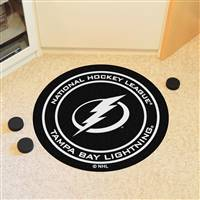 "Tampa Bay Lightning Puck Mat, 29"" Diameter"